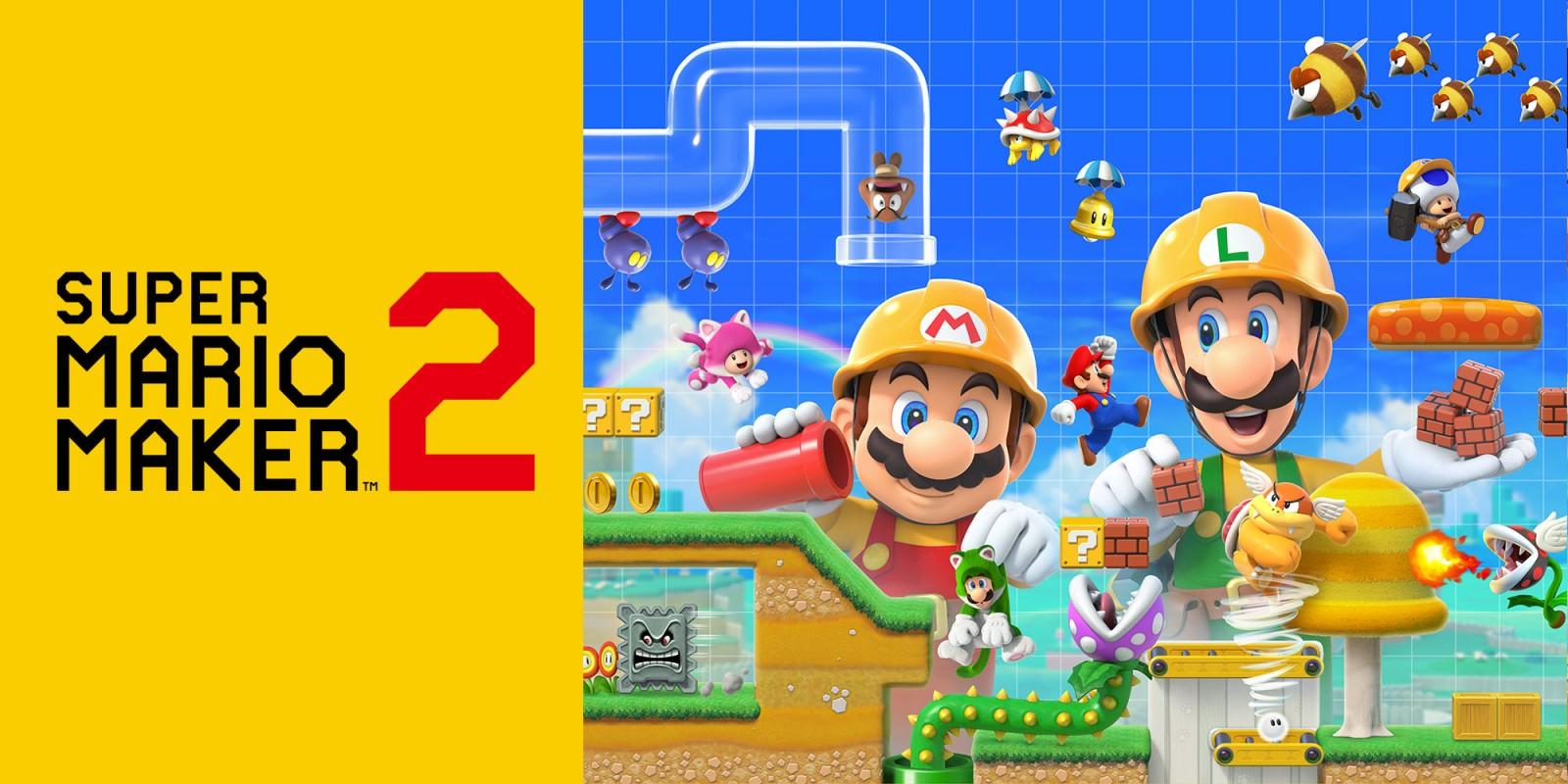 Super Mario Maker 2 Nintendo Switch Online Bundle