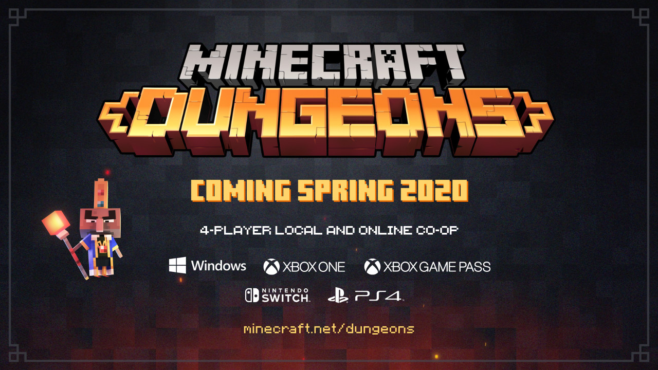 Mojang Unveils Stand-alone RPG game, Minecraft Dungeons - Dice & D ...