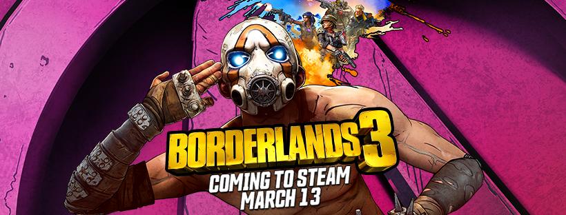 Borderlands 3 steam release